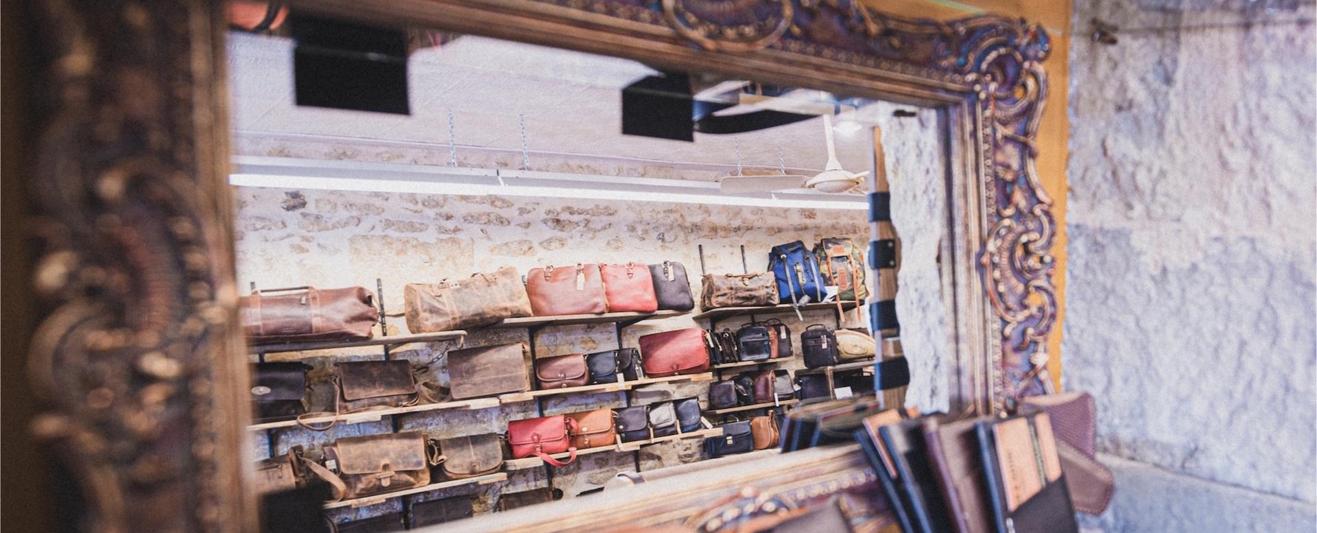 Roch&Gaston, maroquinerie en cuir, sacs à mains à Périgueux, en Dordogne