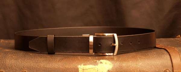 ceinture cuir habillée france artisan