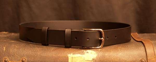 ceinture cuir artisan français laiton